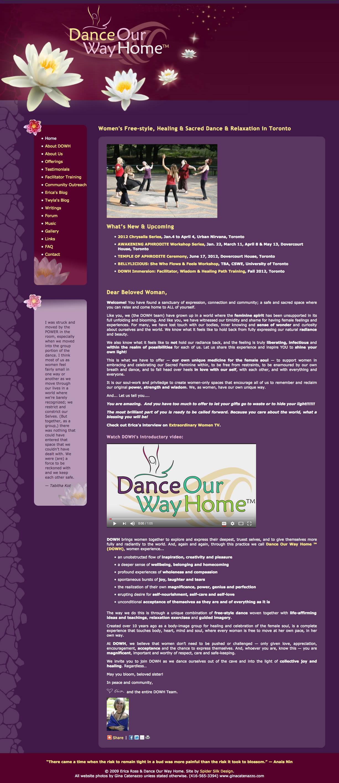 Dance Our Way Home screenshot