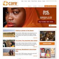 CARE Canada web site