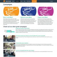Cycle Toronto web site