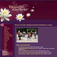 Dance Our Way Home web site