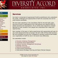 Diversity Accord Associates web site