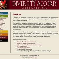 Diversity Accord Associates web site