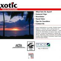 Exotic Destinations web site