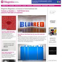 Magenta Magazine web site