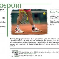 Neosport Photography web site