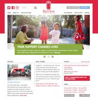 Red Door Family Shelter web site