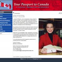 Your Passport to Canada web site
